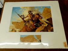 FRANK C MCCARTHY WAY OF ANCIENT MIGRATION PRINT 561/1250 SIGNED W DETAIL PRINT