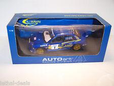 AUTOART 1/18 SUBARU IMPREZA DIE CAST RACE CAR Rare 2001 SCCA Pro Rally Lovell