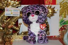 "TY BEANIE BOOS JEWEL THE LEOPARD.9"".MEDIUM BUDDY.JUSTICE EXCLUSIVE.2015.MWNMT"