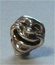 Authentic (Genuine) Sterling Silver TROLLBEADS THEATRE MASK - New