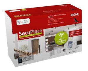 SecuPlace Risco ELKITLITE Wireless Burglar Alarm Kit Wifi + Smartphone app