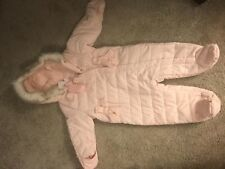 BNWT Baby Girls First Impressions Snow Suit Size 12 Months