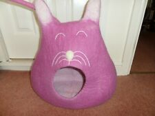 Hand Felted Cat Cave Hand Made In Nepal New