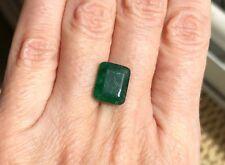 Natural Colombian Emerald • 4.46 Ct • Emerald Cut Loose Gemstone • Stone #54