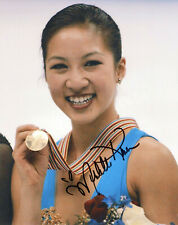 Michelle Kwan Olympic Ice Skater autographed photo signed 8x10 #3 gold medalist