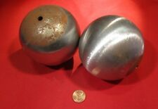 "Steel Hollow Sphere / Balls 3.50"" Diameter, 2 Pieces"