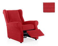 Funda de sillon relax Vulcano Rojo