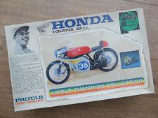 Protar 11314 - Honda 350cc 6 Cylinder GP Bike - 1/9 Scale Model Kit -  Very Rare