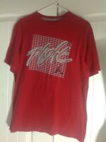 Air Jordan Mens T Shirt Flight Red, Black, and Gray Jumpman size Large EUC
