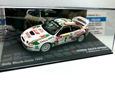 IXO EAGLEMOSS 1/43 TOYOTA CELICA GT FOUR J.KANKKUNEN N.GRIST MONTECARLO 1995