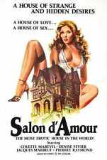 Salon D Amour Poster 01 Metal Sign A4 12x8 Aluminium