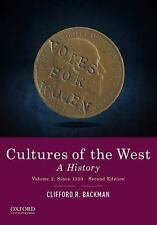 Cultures of the West: A History, Volume 2: Since 1350 - BRAND NEW