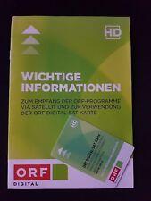ORF HD ICE SAT Karte Digital5 JahreGARANTIE07/2023Formel 1LIVE ohne Werbung