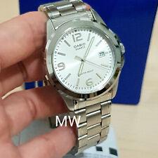 bd8fbc12576c CASIO para hombre MTP-1215A-7A Acero Inoxidable Análogo Cuarzo Fecha Reloj  Informal Vestido