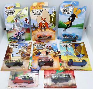 Hot Wheels Looney Tunes  Full Set of 8 Cars
