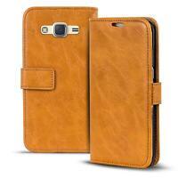 Handy Tasche Hülle Samsung Galaxy J1 2016 Case Klapphülle PU Leder Wallet Cover
