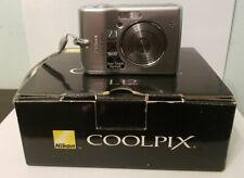 Nikon Coolpix L12 7MP Digital Camera with 3x Optical Vibration Zoom w/Box