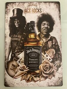 Jack Daniels Blechschild!! Neu, selten