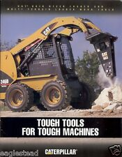Equipment Brochure - Caterpillar - Skid Steer Loader Work Tools - 2005 (E1992)