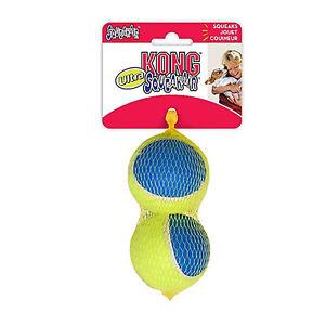Kong Squeak Air Ultra Balls x3 Size Medium