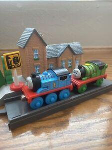 Thomas and Friends Train Take N Play Take Along Percy, Thomas #1 Gullane 2004