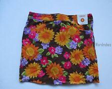 Gymboree Sunflower Smiles Corduroy Skort Skirt Girls 9 NEW NWT