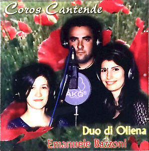 Maria Luisa Congiu, Giusi Deiana, Emanuele Bazzoni - Coros Cantende (CD - Album)