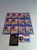 *****Ray Macoritti*****  Lot of 22 cards.....3 DIFFERENT / Football / CFL