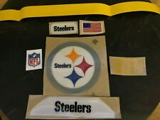 New Pittsburgh Steelers Full Size Football Helmet Decals 20 Mil
