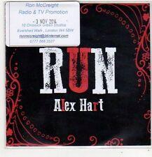 (FL424) Alex Hart, Run - 2014 DJ CD