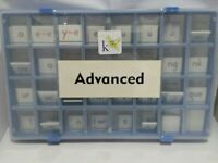 K-12 Phonics Works Advance Tile Kit--New, Sealed--Homeschooling, education