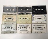 Lot Of Classic Rock/metal Cassettes! AC/DC Lynyrd Skynyrd, Scorpions, Van Halen!