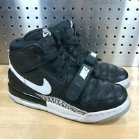 Nike Air Jordan Legacy 312 GS Black White Cement Gray Shoes Sz 5.5Y (AT4040-001)