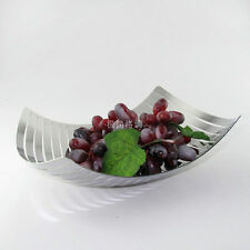 Stainless Steel Euro Home creative fruit plate Arts fruit bowl Fruits Basket 336