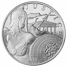 2018 Modern Ancients Series | Athena | 1 oz .999 Silver BU Round Coin in capsule