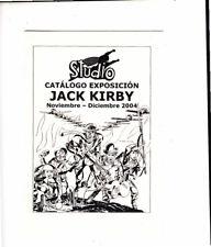 STUDIO : CATALOGO DE JACK KIRBY AÑO 2004.21X15 CM.16 PAGINAS( MUY RARO 50 EJMPL)