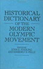Historical Dictionary of the Modern Olympic Movement-ExLibrary