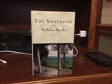 The Notebook.  Nicholas Sparks  1st HC.  Warner 1996.   Nice copy