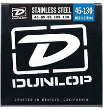 Dunlop Stainless Steel 5-string Bass Medium 5-130 (045-130)