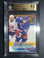 2016-17 Upper Deck Jimmy Vesey Young Guns Canvas Rookie BGS 9.5