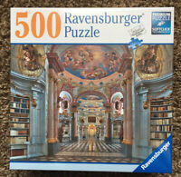 Ravensburger Admont Abbey Library 500 Piece Jigsaw Puzzle New Sealed