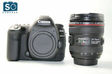 Canon EOS 5D Mark DSLR telecamera con IV EF 24-70mm f/4L KIT LENTI IS USM