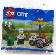 LEGO City 30356 Hot Dog Stand, Würstchenwagen, Imbiss Stand, Würstchenverkäufer