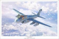 "EA-6B Prowler Aviation Art Print - 16"" x 24"""