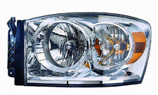 2007 2008 2009 Dodge Ram 1500/2500/3500 New Left/Driver Side Headlight Assembly