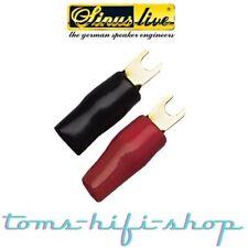 Sinuslive KSI-2.5 10x Gabelkabelschuhe Kabelschuhe Gabel 2,5mm² 2,5qmm für Kabel