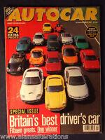 AUTOCAR Magazine 24th September 1997 Britain's best