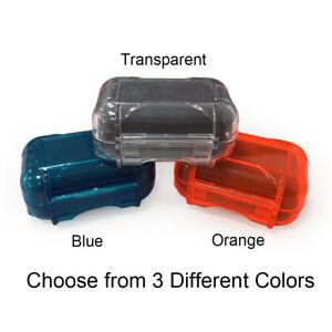 Waterproof Hearing Aid Hard Case IEM Earphone Storage Carrying Box Holder Small