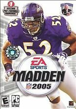 Madden 2005 Sony Playstation 2 Video Game CD No Memory Card Included