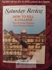 Saturday Review February 4 1978 THEODORE L. GROSS DEAN HAVRON ARTHUR SCHLESINGER
